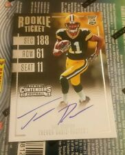 TREVOR DAVIS  2016 Panini Contenders ROOKIE  TICKET RPS RC ON CARD Auto PACKERS