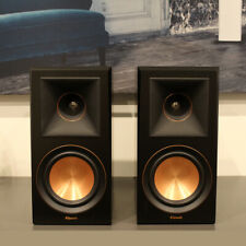 Klipsch RP-600M Bookshelf Speakers - Ebony Finish