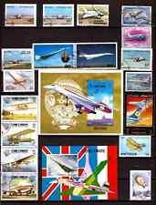TOUS PAYS  :Le Concorde et tous types d'avions,planeurs,ballons H258
