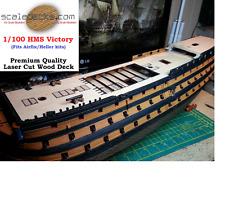 1/100 HMS Victory Wood Deck for Heller by Scaledecks.com