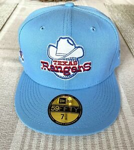 7 5/8 Texas Rangers Green Botton MyFitteds Exclusive New Era Fitted Hat Club