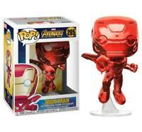 Avengers Infinity War Iron Man Red Chrome Pop! Vinyl Figure #285