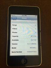 Apple iPod touch 3rd Generation Black (32 GB) Model: A1318 (MC008LL)