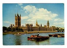 Vintage Postcard The Houses of Parliament - London England - 1963