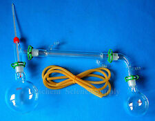 500ml,24/29,Glass Distillation Apparatus,Lab Chemistry Glassware Kit