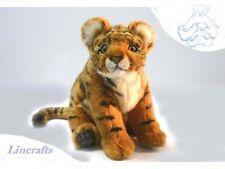 Sitting Tiger Cub Plush soft Toy Wildcat by Hansa  2303