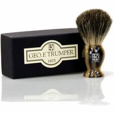 Geo F Trumper Simulated Horn Badger Hair Shaving Brush