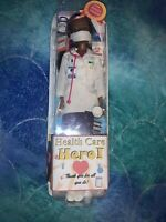 CUSTOM OOAK Pandemic HERO HEALTH CARE WORKER Barbie Doctor Doll One Of A Kind!