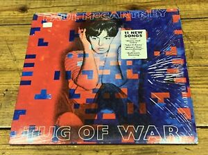 PAUL McCARTNEY Tug of War LP 1982 Original press w/ Hype Sticker #8820 Shrink EX