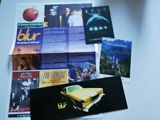 More details for blur  - promotional flyers & newsletter 1990s - brit pop - free posting
