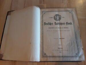 1891 Deutscher Radfahrer-Bund Redaktion Louis Stein