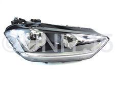 VW Golf Sportsvan 2014- Right Drivers Halogen Headlight - Genuine VW
