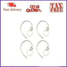 4 Pack Wireless Ear Hook Clip Loop for Motorola Bluetooth Headset Boom White