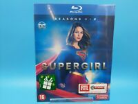 neuf film blu ray serie supergirl saison 1 et 2 DC