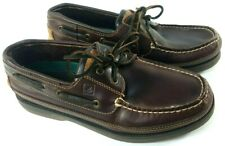 Sperry Top Sider Mako Collection Leather Boat Loafer Deck Shoes Men's SZ 10 EUC