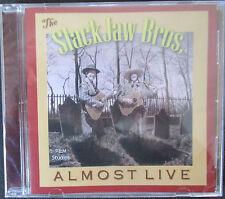 THE SLACKJAW BROS. - ALMOST LIVE CD - BRAND NEW