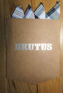 Brutus Trimfit Pocket Square in White/Multi, Mod, Skin, Soul