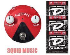 Jim Dunlop Jimi Hendrix Band of Gypsys Mini Fuzz Face FFM6 ( 3 STRING SETS )