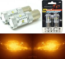 LED Light 30W PY21W Amber Orange Two Bulbs Front Turn Signal Replacement Upgrade