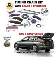 Pour BMW 5 Série 520D Gran Turismo 184BHP 2013- > Chaîne de Distribution + Gears