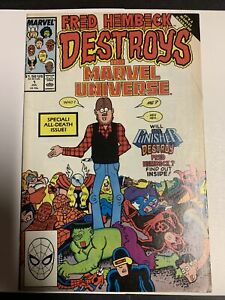 Fred Hembeck Destroys the Marvel Universe, Marvel Comics 1989 - Combine Shippng