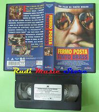 VHS film FERMO POSTA 1995 Tinto Brass Cinzia Roccaforte BMG 90 mins (F84)*no dvd