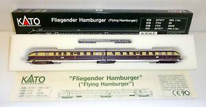 """Kato N 10704 Diesel-Triebzug SVT 877 """"Fliegender Hamburger"""" der DRG OVP RS2954"""