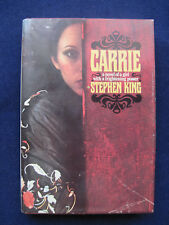 CARRIE by STEPHEN KING - 1st Ed in Jacket,  PETE FOUNTAIN'S Copy SIGNED by Him