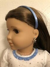 Silver Star Earring Dangles for 18 inch Doll American Girl Doll Jewelry