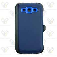 For Samsung Galaxy S3 Navy Defender Case (Belt Clip Fits Otterbox)