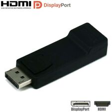 DP Display Port DisplayPort Male to HDMI Female Adapter Converter HDTV Black