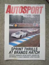 Autosport magazine 27th July 1989