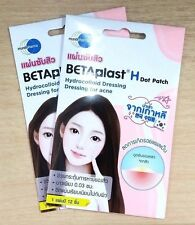 Betaplast H Acne Dressing 24 Dots Patch Surface Moist Wound Healing Reduces Scar