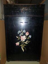 Vtg Detecto Metal Floral Hamper w/Drawer