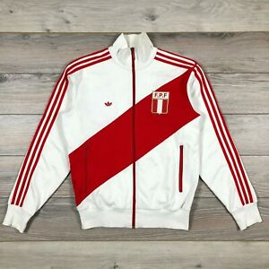Peru National Team Adidas Reissue 2005 Vintage Men's Soccer Jacket size L