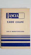 LIBRETTO USO MANUTENZIONE LANCIA 1300 COUPE