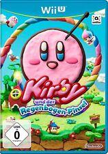 Nintendo Wii et Jeu KIRBY & LE regenbogenpinsel pour la NOUVEAU WiiU PRODUIT