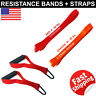 Resistance Band Loop 50 60 lb Fitness Strap D Handle Cable Attachment Set