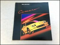 1985 Chevrolet Camaro Iroc-Z with 1955 Bel Air Original Car Sales Brochure