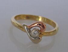 Sweet Love♥Ring in aus Gold mit Brillant Schmuck Diamant Herz Brillanten Diamond