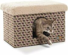 K & H Kitty cat Sturdy  bunkhouse luxury Cat House Bed Hideout Kitten Cave