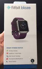 FitBit Blaze Activity Tracker Purple Plum Size Large New, Sealed