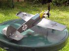 1/2-A Plans: Messerschmitt 109E Semi-Scale Mouse Racer by Karlson