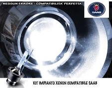 """KIT IMPIANTO XENON H7 BIANCO GHIACCIO """"SAAB 9-3"""" (2002-2015) NO SPIE ERRORE"""