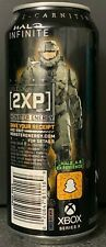 NEW MONSTER ENERGY DRINK 16 FL OZ FULL CAN HALO INFINITE 2XP PROMO XBOX SERIES X