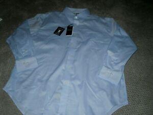 Lauren By Ralph Lauren Ultra Flex Men's LS Dress Shirt Size 16.5 34/35 NWT
