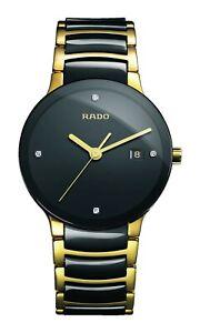 Rado Centrix Diamond Two Tone Ceramic Stainless Steel Men's Watch R30929712