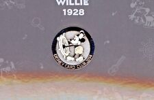 5th Disney Club Card Mickey Mouse in Steamboat Willie Not for Sale Pin 2014