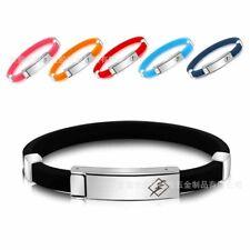 Multicolor ANTI STATIC Titanium Ionic Magnetic Bracelet Band ESD Lightweight EI