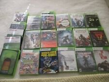 Lot of 22 Xbox 360 Games - 6 New + 11 Complete + 5 No Manual + 4 other